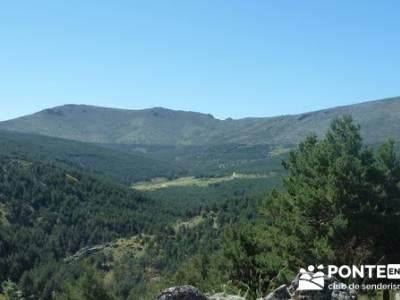 Senderismo valle Río Lozoya - Río Aguilón y Cascada del Purgatorio; montañismo; deporte en madri